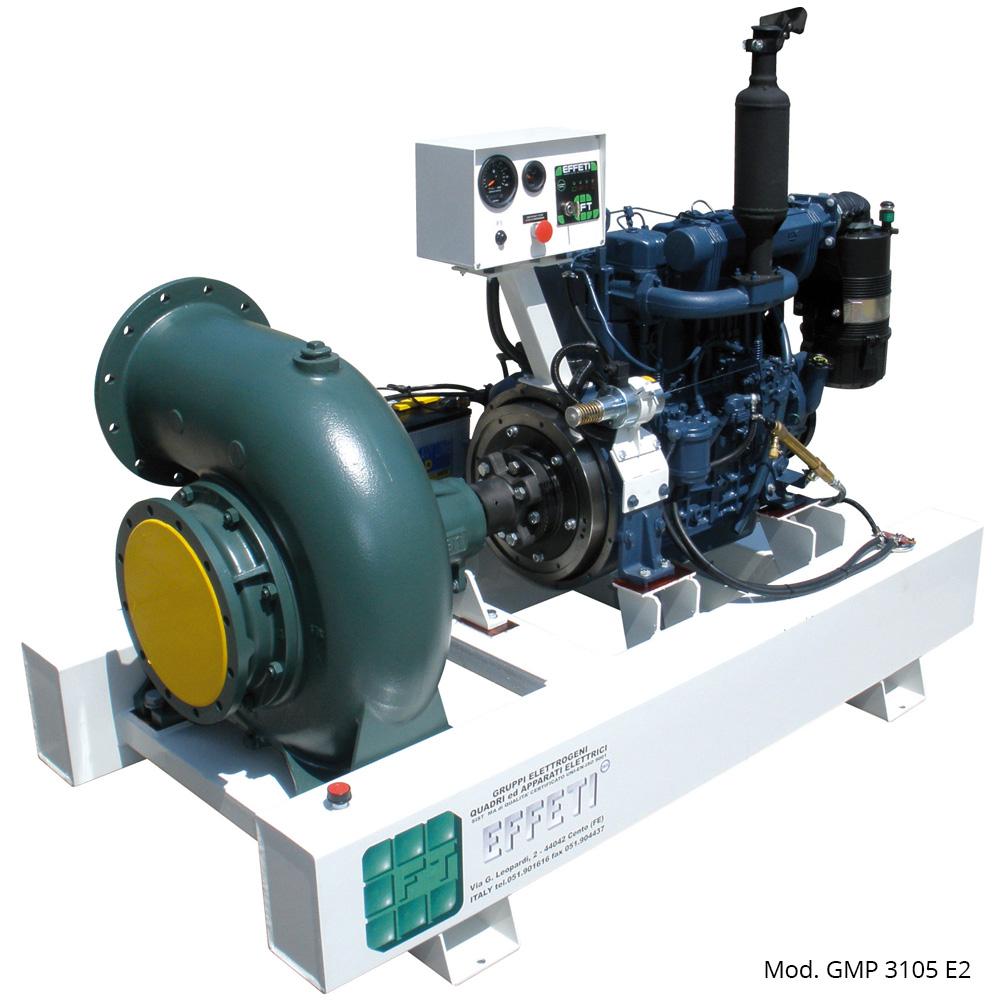 Motor Pumps Series GMP 2105 E2   Power Generators Production